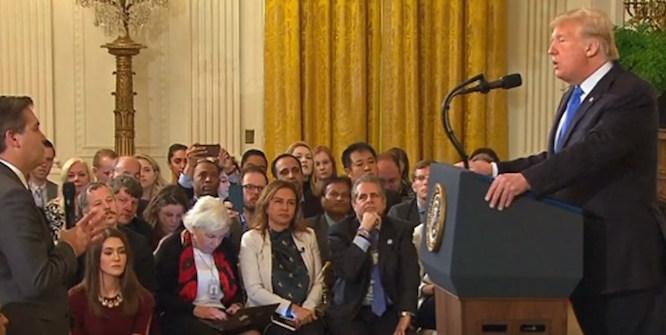 کاخ سفید مجوز ورود خبرنگار سیانان را باطل کرد