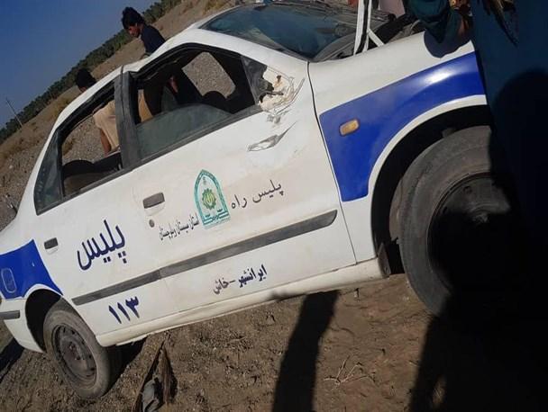 تیراندازی به ماموران راهور ناجا در ایرانشهر