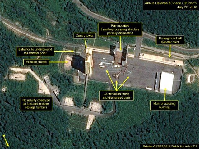 کره شمالی در حال پاکسازی سایت اتمیاش است