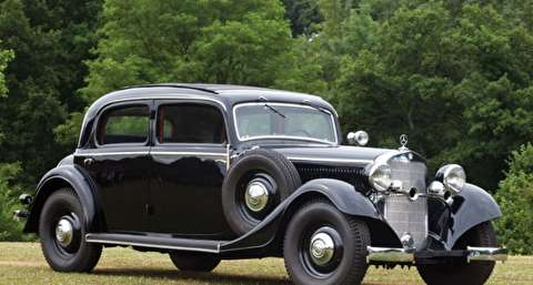 مرسدس بنز 230 یا دابلیو 143 مدل 1937