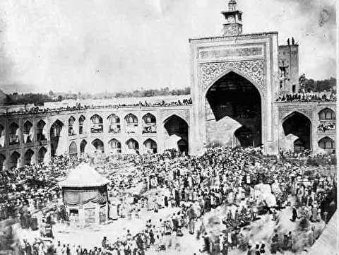 در واقعه مسجد گوهرشاد چه اتفاقی رخ داد؟