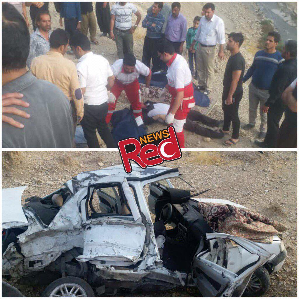 5 کشته در تصادف جاده ایلام به مهران