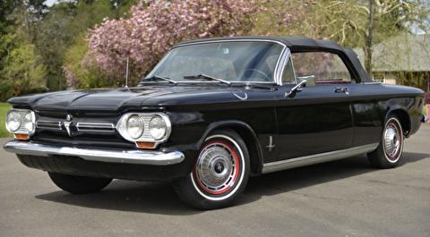 شورلت کوروِر مونزا مدل 1965 میراث زیبا