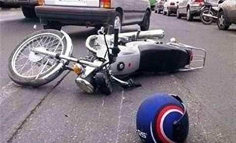 تصادف ساختگی راکبان موتورسیکلت برای سرقت