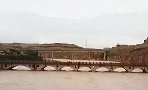 طغیان رودخانه بالارود در اندیمشک