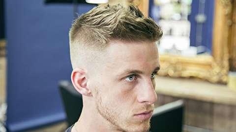 روش کوتاه کردن و فرم دادن مدل موی نظامی
