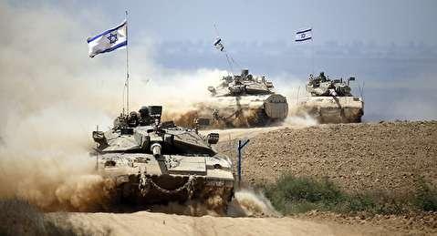 حاخامهای صهیونیست روی تانکها در جنگ 33 روزه