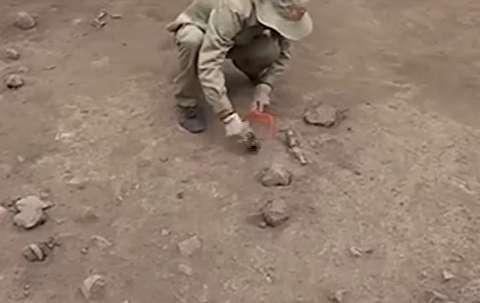 کشف گورهای 3000 ساله در پرو