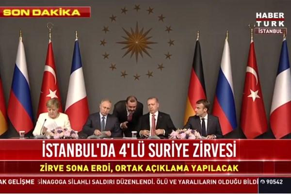 اردوغان: برحفظ تمامیت ارضی سوریه توافق کرد
