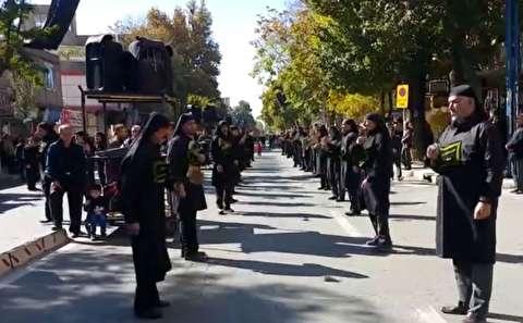 راهپیمایی اربعین حسینی در سراسر ایران