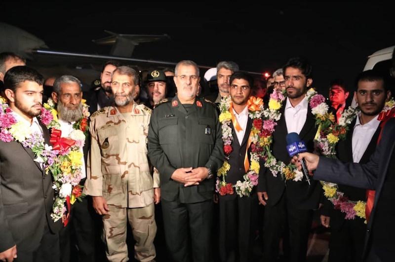 ۵ تن از مرزبانان ربوده شده به کشور بازگشتند