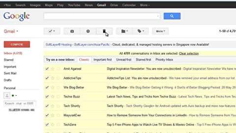 روش مدیریت ایمیلهای پرتعداد دریافتی