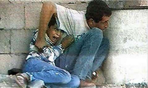 کشتن محمد الدوره به ضرب گلوله سربازان اسرائیل