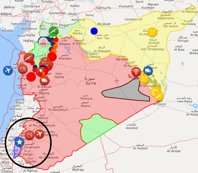 تنش در جبهه غربی سوریه/ نشانه هایی از احتمال پیش روی ارتش سوریه به سمت جولان اشغالی/ ارتش اسرائیل در آماده باش کامل