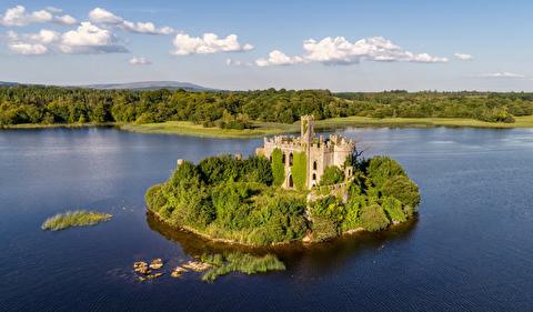 طبیعت زیبای پیرامون دریاچه کی ایرلند