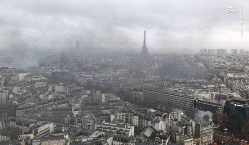 نمایی از شهر جنگ زده «پاریس»