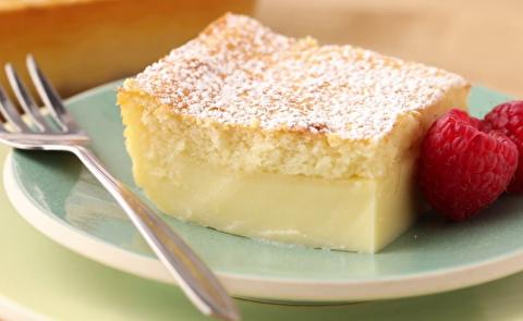 طرز تهیه دسر کیک جادویی