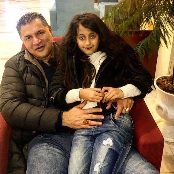 عکس جدید از علی دایی و دخترش نورا