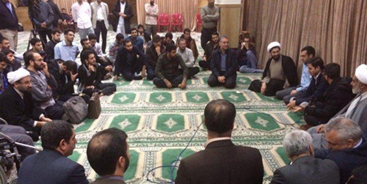 حضور سرزده نماینده رهبری در کوی دانشگاه تهران