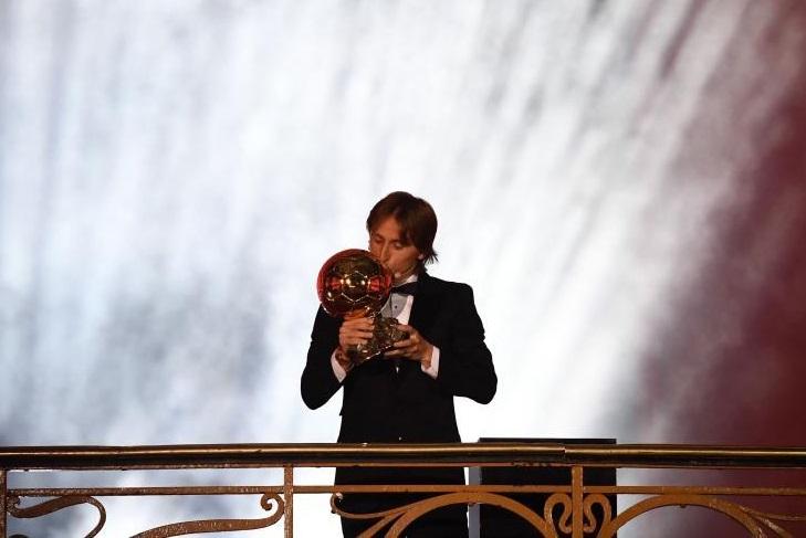 فوری/لوکا مودریچ برنده جایزه توپ طلای 2018 شد