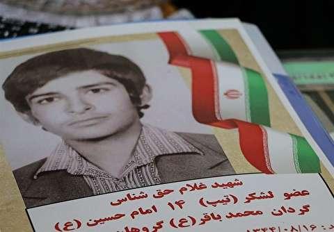 لحظات کشف پیکر شهید حقشناس در تفحص