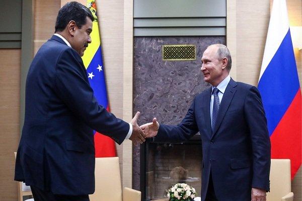 پوتین: از ونزوئلاحمایت میکنم