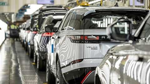 خط تولید خودرو رنجرور وِلار مدل 2018