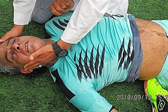 بازیکن سابق استقلال اهواز در مسابقه درگذشت