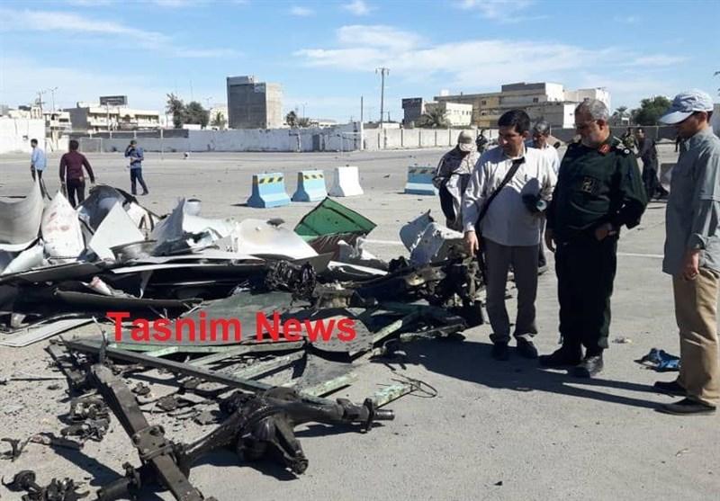 ۴ شهید و ۱۵ نفر مجروح در حادثه تروریستی در چابهار/ شهادت فرمانده انتظامی چابهار