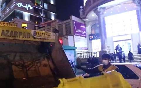 رها شدن زبالههای عفونی در برخی خیابانهای اراک