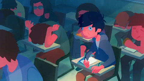 انیمیشن کوتاه کلاس عصر