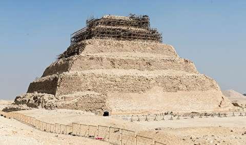 بقایای قصر حضرت یوسف و زلیخا در مصر