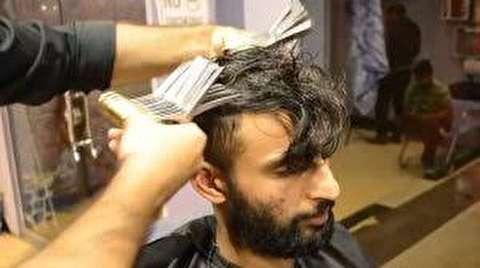 اصلاح مو با 27 قیچی به صورت همزمان!