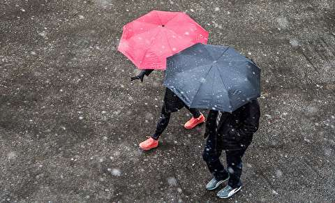 دوشنبه، سردترین روز یک ماه اخیر ایران
