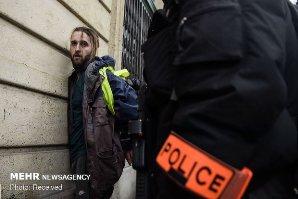 آمادهباش ۸ هزار پلیس فرانسه و ۱۴ خودرو زرهی