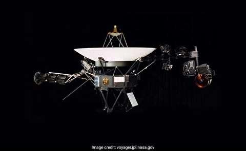 وویجر 2 در فضای بین ستارهای