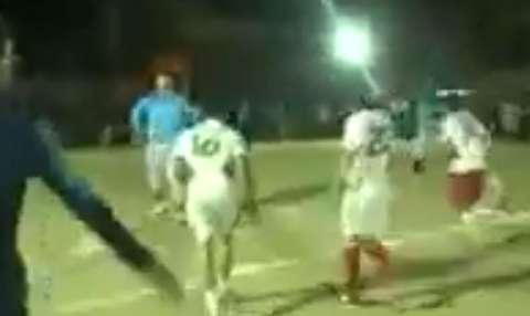 مسابقات فوتبالیستهای 150 کیلویی