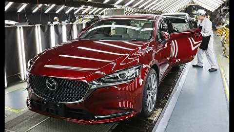 خط تولید خودرو مزدا 6 مدل 2018