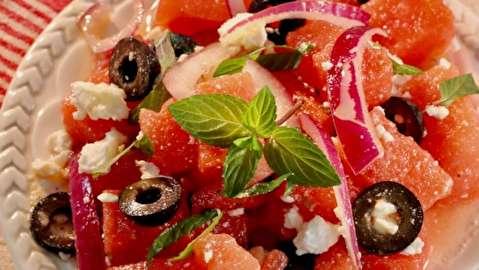 طرز تهیه سالاد هندوانه