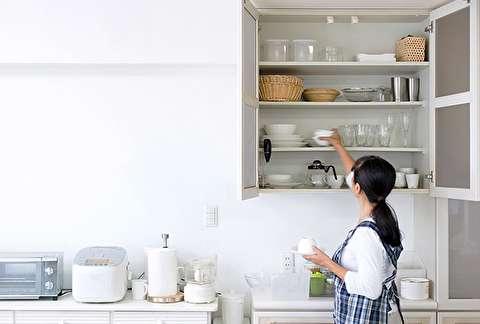 نحوه آماده و مرتب کردن آشپزخانه