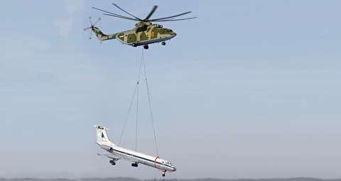 میل-26 هیلو ؛ بزرگترین هلیکوپتر دنیا