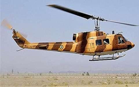 بازگشت هلیکوپتر نظامی ایران به آسمان