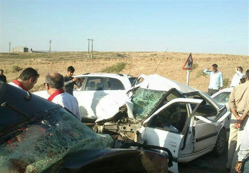 تصادف وحشتناک در جاده «اسلامآباد - گواور»