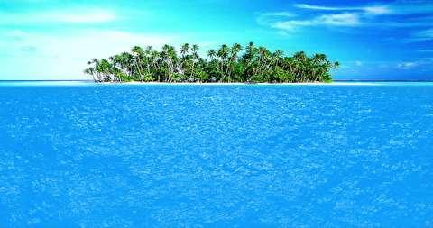 شکوه زمین و دریا از فراز آسمان