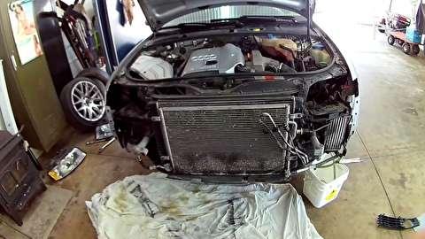روش تعویض رادیاتور خودرو