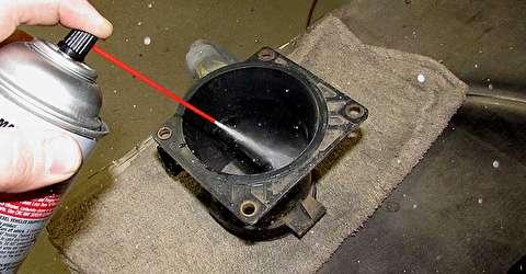 روش تمیز کردن و تعویض سنسور جریان هوا خودرو