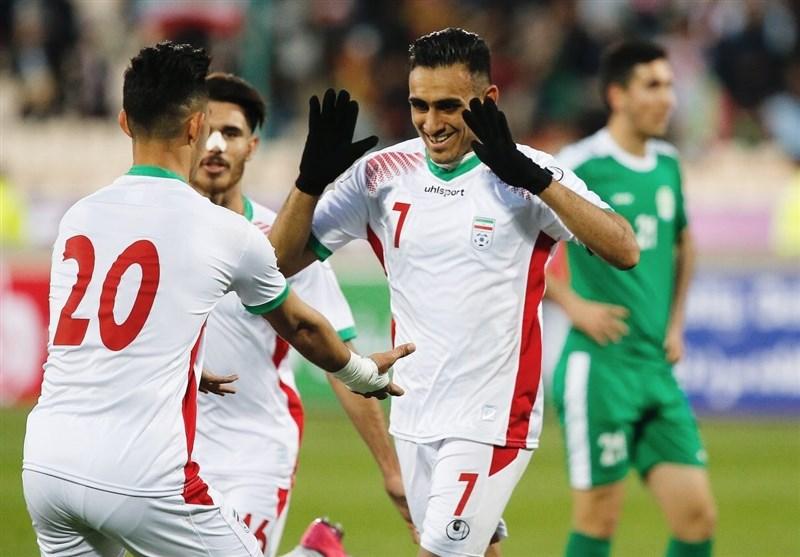 اولین گام امیدهای ایران برای شکستن طلسم المپیک با شکست ترکمنستان/عراق درتهران صدرنشین شد!/ایران؛تنها میزبانی که گل خورد!