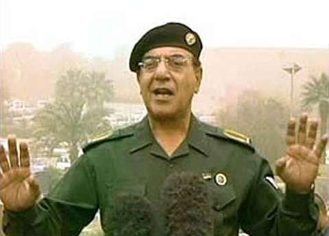 آخرین موضعگیری سخنگوی صدام قبلازسقوطبغداد