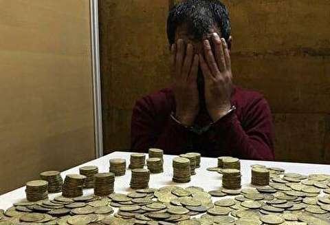 کشف 1300 سکه عتیقه از مسافر مترو تهران