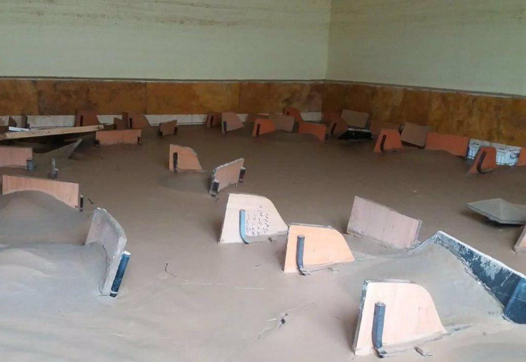 کلاس درس روستای «چم مهر» در پلدختر